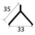 35x33 MM