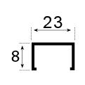 8×23 MM